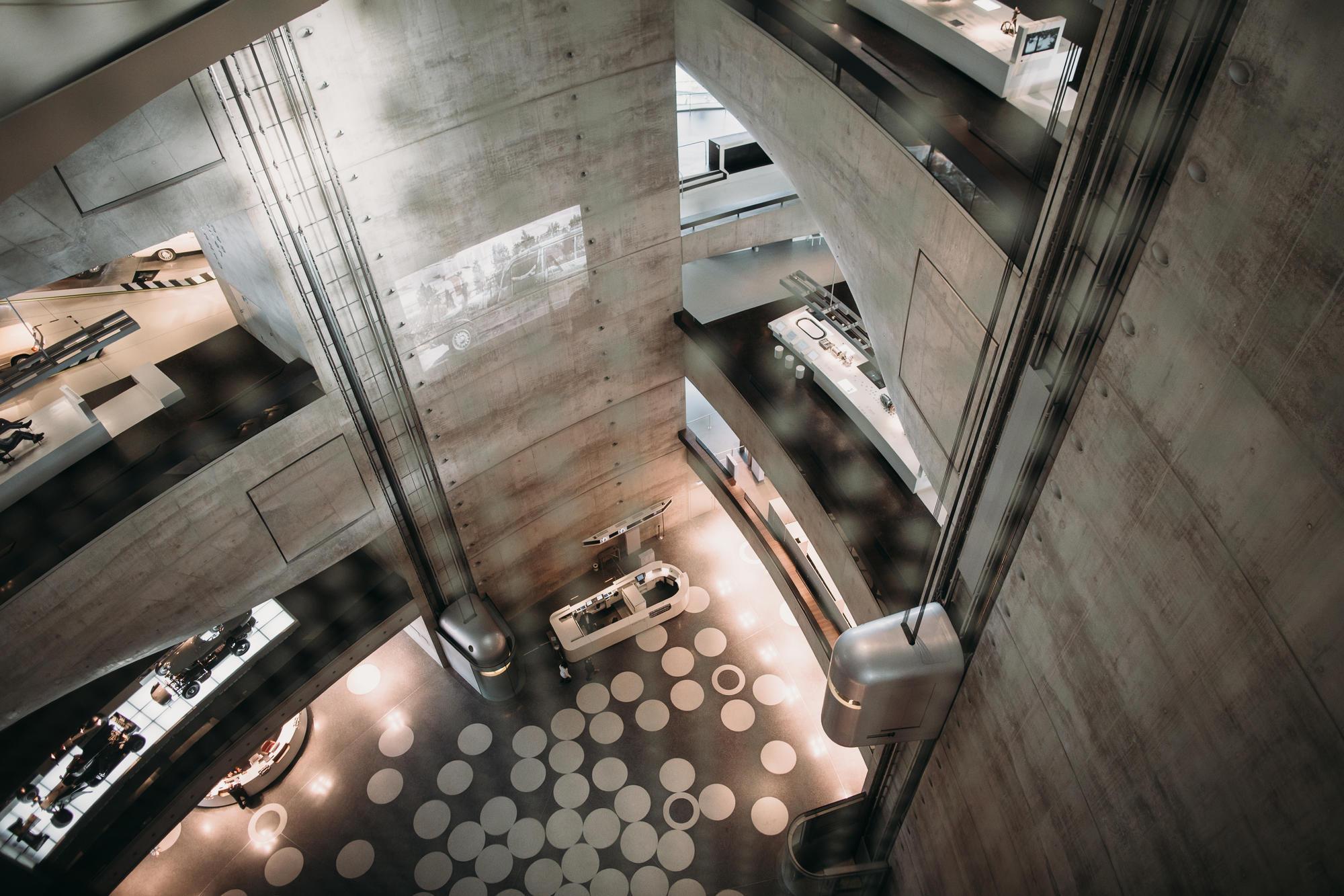 Mercedes Benz Museum Unstudio Engineering The Void