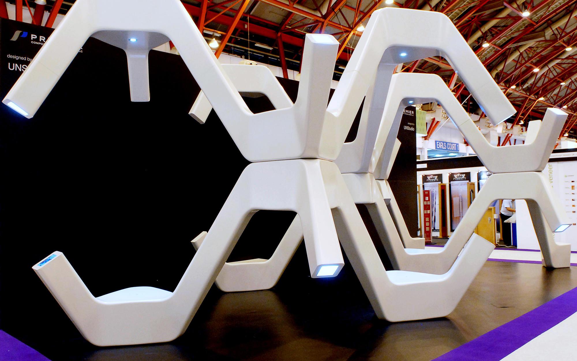 Modular fabrication unstudio for Fabrication stand