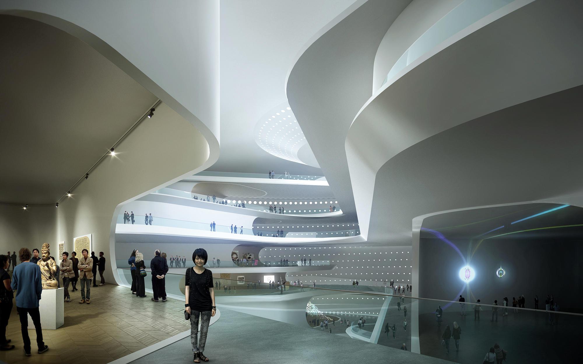 Museum Interior Design Furniture ~ The national art museum of china unstudio