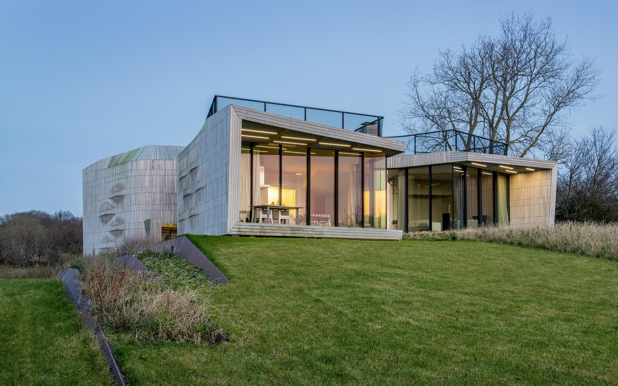 100 Front To Back Split House Modernist Master