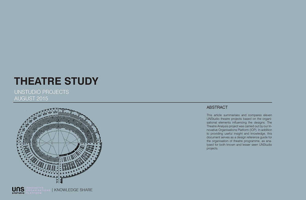 Study theatre analysis unstudio this study includes the analyses of eleven unstudio projects aiming to show a wide range of design solutions the presentation of each project gives an ccuart Gallery