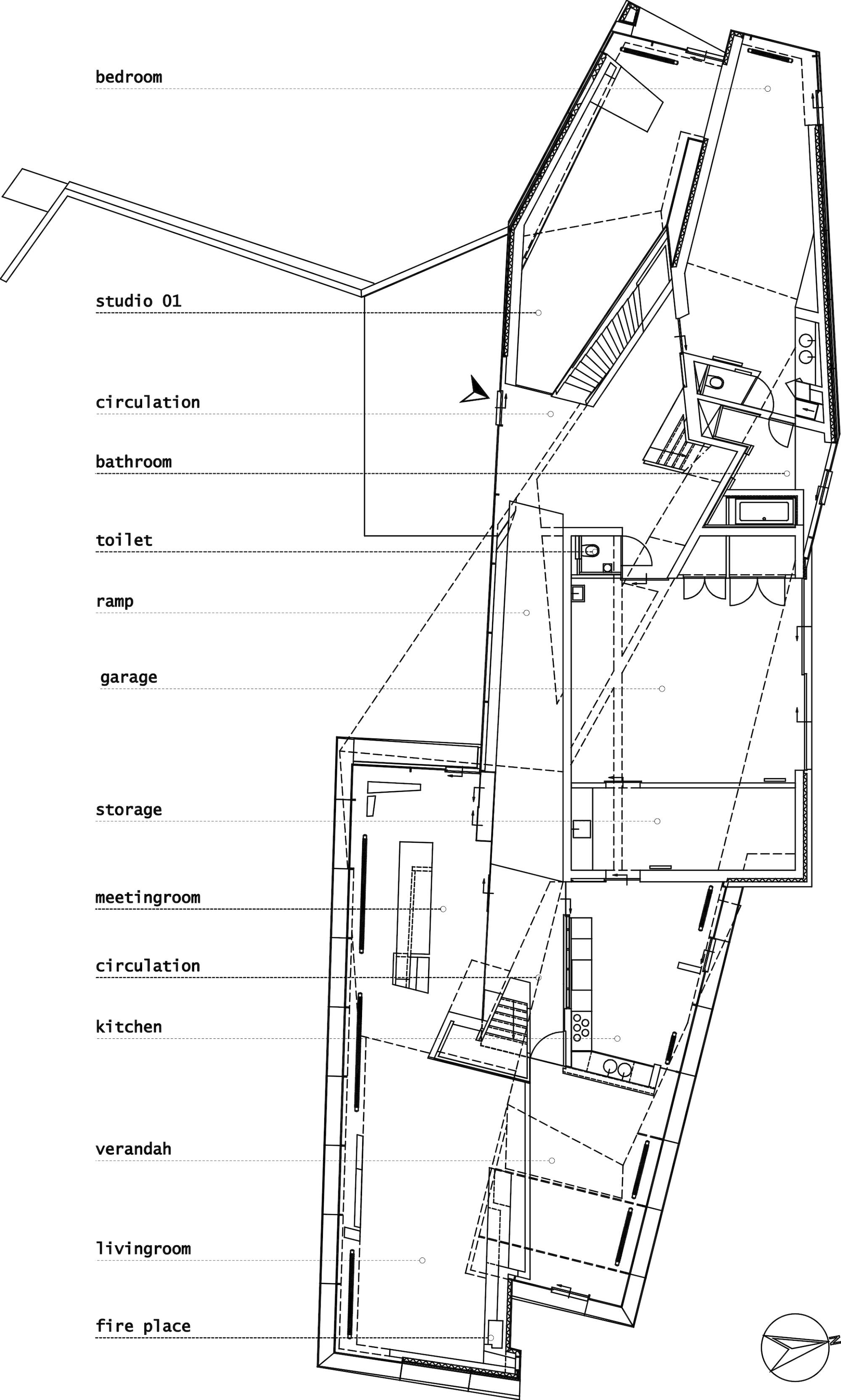 100 The Notebook House Floor Plan My Architectural