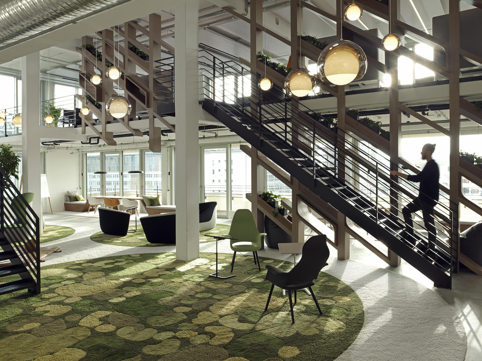 Allianz global digital factory unstudio for Interior design munich