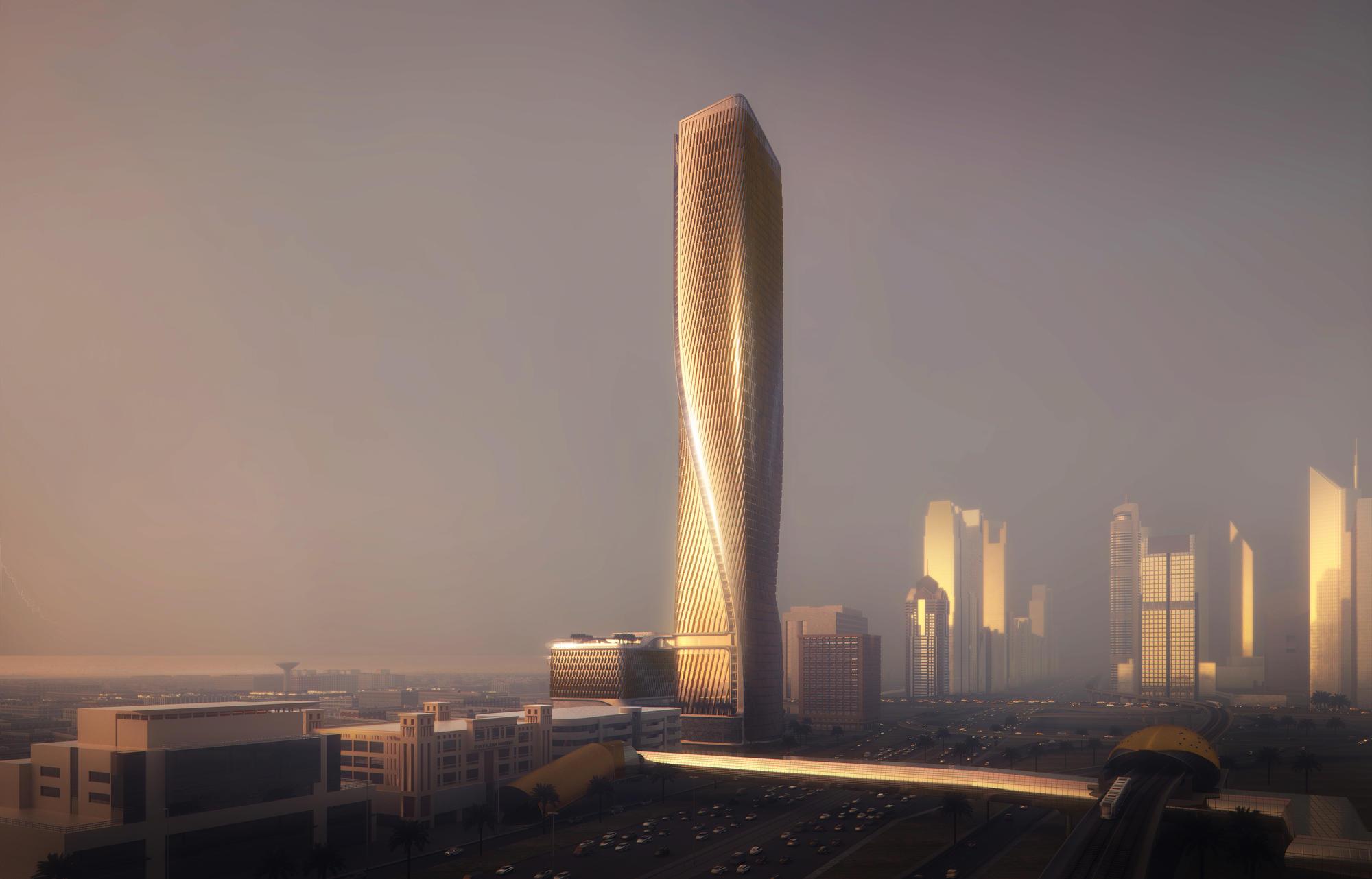 Wasl Tower Unstudio